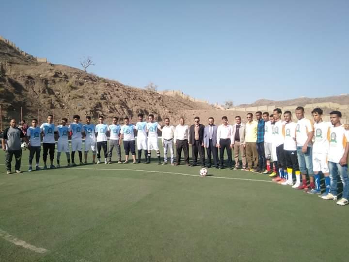 فريق الحاسبات يفوز ببطولة دوري جامعة العلوم والتكنلوجيا لكرة القدم بالحوبان